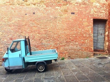 I vicoli in salita o in discesa a Montepulciano
