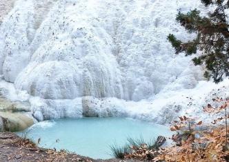 Fosso Bianco e l'acqua termale
