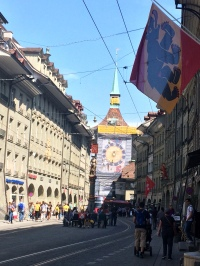 Per le vie del centro di Berna