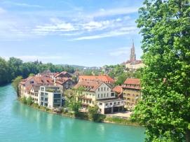 Il centro storico di Berna