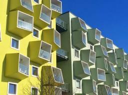 I colori dell'architettura contemporanea