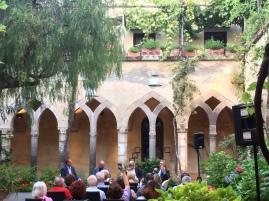 Il chiostro di S. Francesco a Sorrento