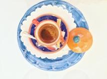 Il caffè di Amalfi servito con agrumi canditi