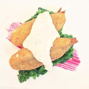 Alici fritte e molto altro del ristorante La Caravella
