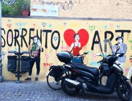 La street art anche a Sorrento