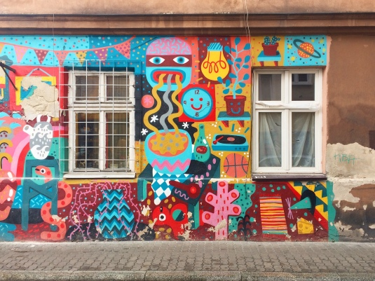 Street art a Kazimierz