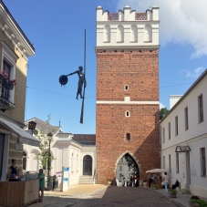 La torre d'Ingresso nel centro storico