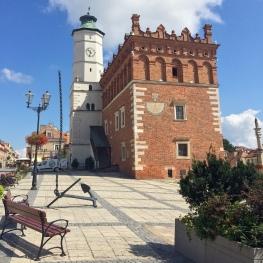 Il municipio di Sandomierz