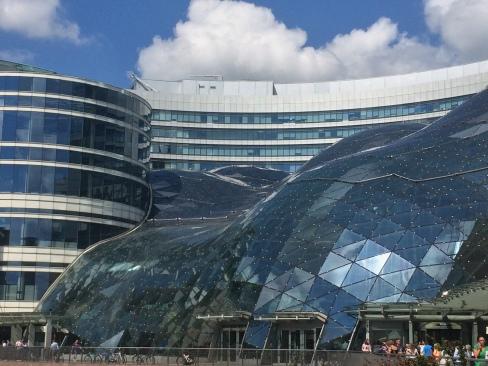 Il centro commerciale Zlote Tarasy