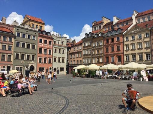 La piazza del Mercato