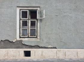 Una finestra molto carina a Buda