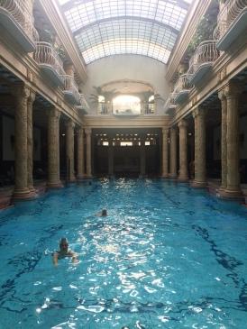 La piscina dei Bagni Gellert