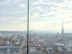 Lo skyline dal Das Loft