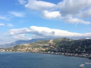 Vista dal castello di Agropoli