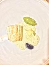 Pesce, friggitiello e olive celline