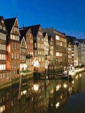 Le case antiche e colorate di Deichstrasse