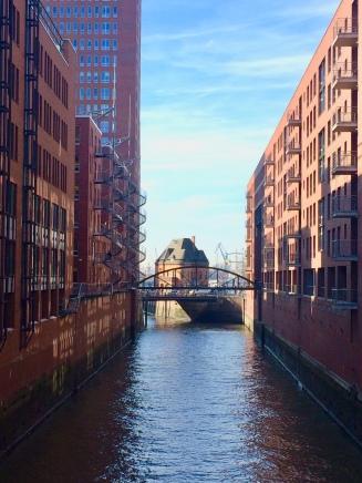 Il panorama dai canali