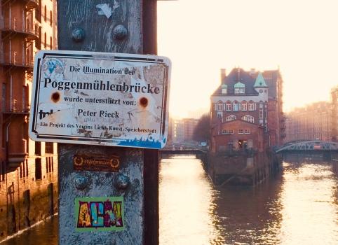 L'edificio più fotografato di Speicherstadt