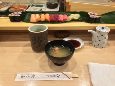 Sushi a Toyosu