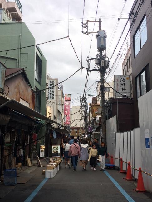 Tra le vie di Tsukiji