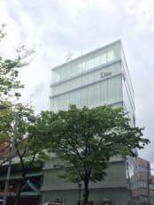 Dior e l'architettura contemporanea