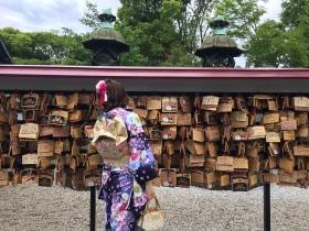 Nel parco di Ueno