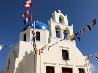 Chiesa a Oia